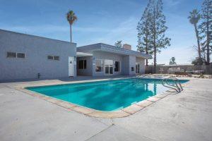 community gated swimming pool